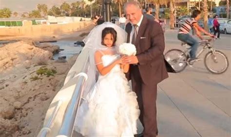 Child bride swim scene from meet