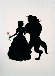and beast silhouette and the beast silhouette search