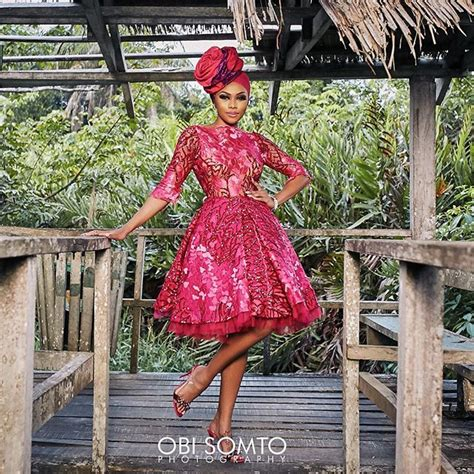 Who Wore It Better Pink Printed Patio Dress by Who Wore It Better Toke Makinwa Bonang Matheba In Toju