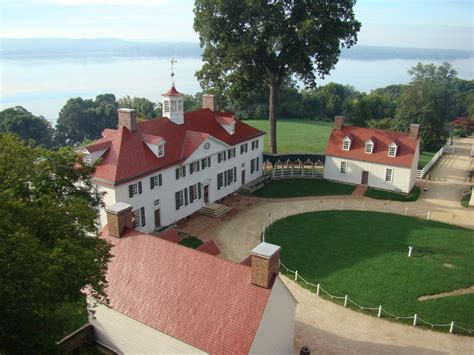 views of george washington s mount vernon home president
