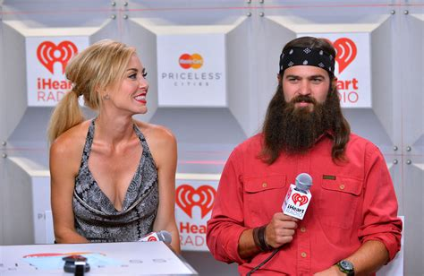 duck dynasty jessica robertsons hair style jessica robertson in backstage at the iheartradio music
