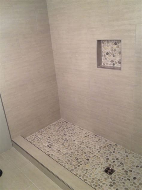 Long time admirer first time user of pebble stones for a shower floor tiling contractor talk
