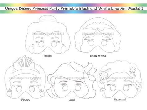 princess mask coloring pages unique coloring pages disney princess holidaypartystar