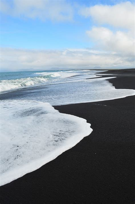 beach black sand 1000 ideas about black sand on pinterest iceland