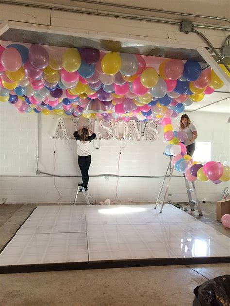 best 25 balloon ceiling decorations ideas on