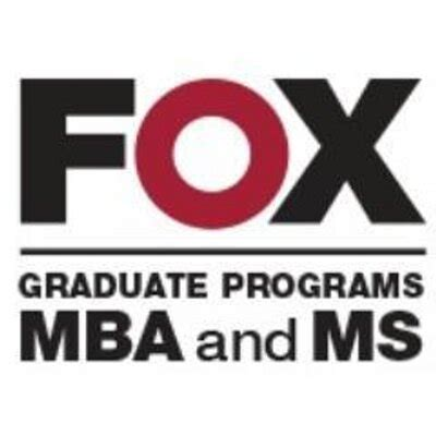 Mba And Masters by Fox Mba Ms Foxmba