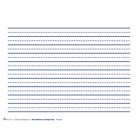 printable lined paper with dotted midline raised line papers horizontal wide space broken midline