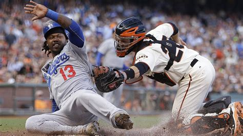 dodgers a weekend to remember sweeping giants with 4