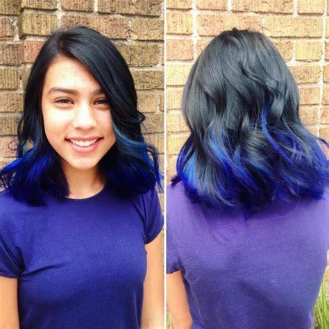 sapphire black hair color 25 alluring dark blue hair color ideas mystery in your locks