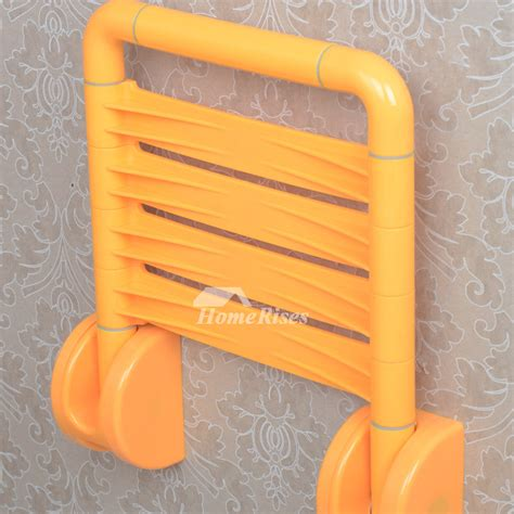 stainless steel folding shower seat hn wall mounted stainless steel folding shower seats for
