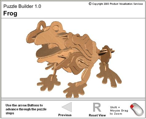 3d Puzzle Frog By Bimbozone patbelford new media adventures experiments 3d