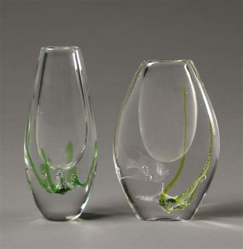 Goblet Vases by Autumn 2007 Mission To Modern Auction Antique Helper