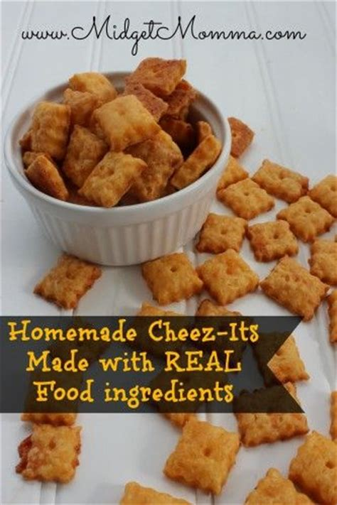 Handmade Real Foods - cheez it crackers recipe to tell and