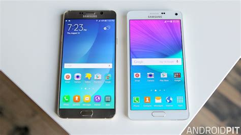 Samsung Note 4 Note 5 galaxy note 5 vs galaxy note 4 comparison notably
