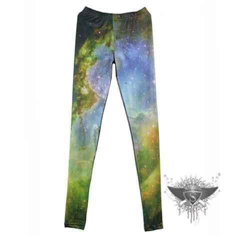 universe pattern leggings sl multicolored elastic ladies universe galaxy pattern