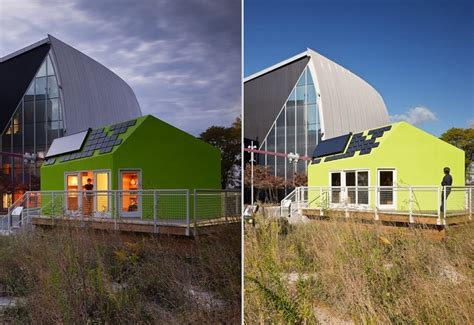 buy a pod house ohio state university s solar pod house plants the seed of sustainable design