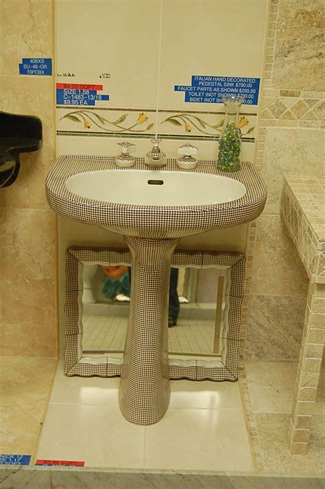 1950 bathroom fixtures world of tile vintage nos sinks mirrors lighting