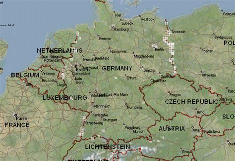 topographic map germany germany topographic maps mapstor