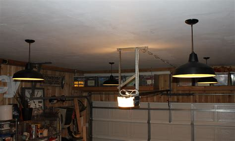 Led Garage Ceiling Lights by Garage Ceiling With New Pendants Garage Ceiling Lights