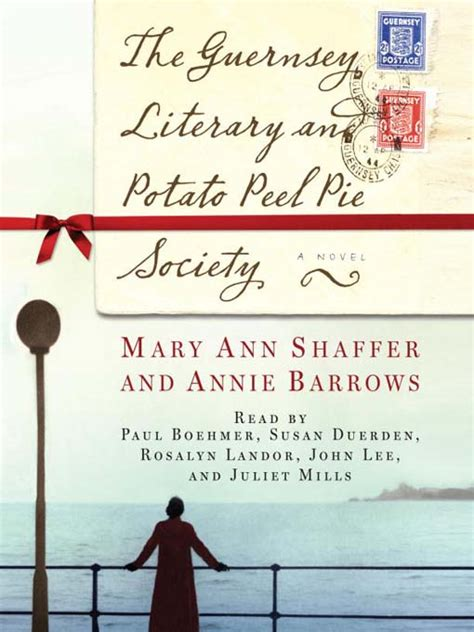 the guernsey literary and darlene s book nook audiobook review the guernsey literary and potato peel pie society