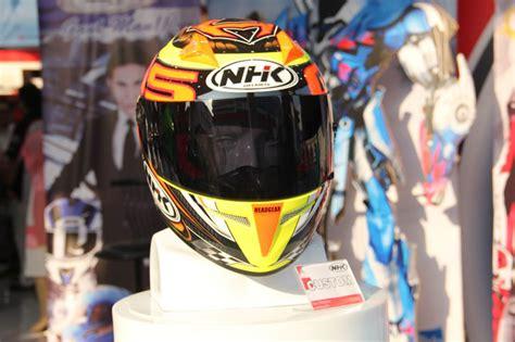 Helm Nhk Custom helm nhk pamer koleksi terbaru 2015 di jakarta fair