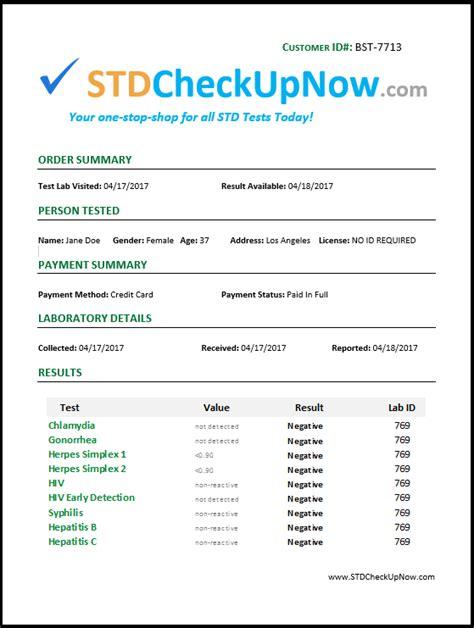 test std std test results time frame framess co