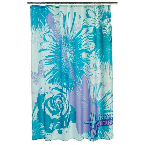 hannah montana bathroom disney hannah montana shower curtain home bed bath