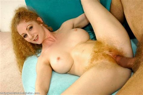 Hairy Taco Big Red Hairy Pussy And Red Hair On Head