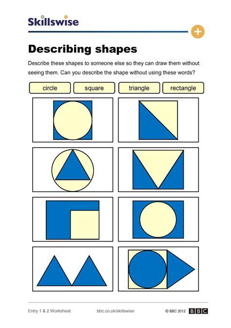 descriptive words for someones face shape describing shapes