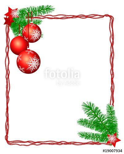 cornice natalizia per foto quot cornice natalizia con rami e decorazioni appese quot immagini