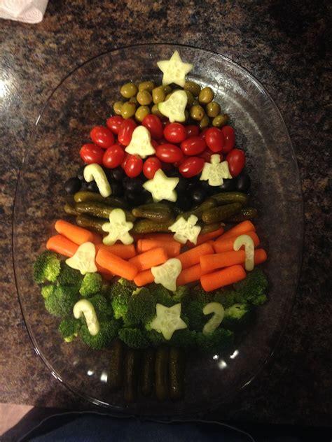 christmas tree relish tray tree relish tray