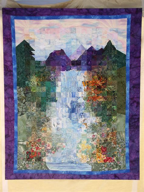 Watercolor Quilts by Watercolor Quilt Cj Dow Studio