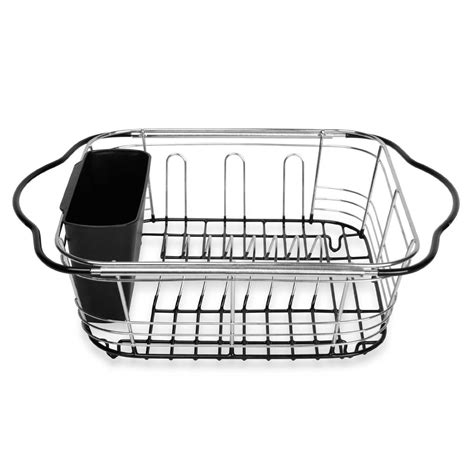 over drainer rack dish drying rack in on counter or expandable over