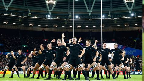 all black all haka at the olympic stadium