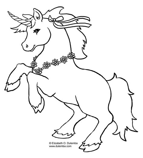 unicorn coloring pages    print