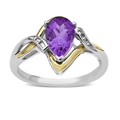 amethyst and ring all occasion gemstone jewelry