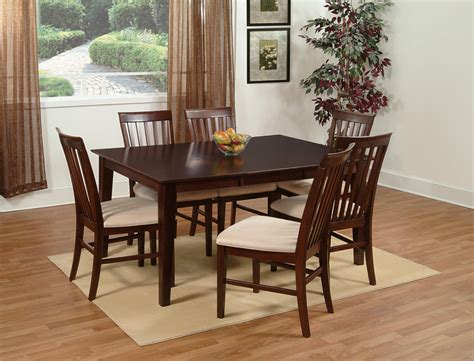 Shaker Dining Room Set Shaker 5 Pc Dining Set Antique Walnut Dining Room Sets Ad84211304 5