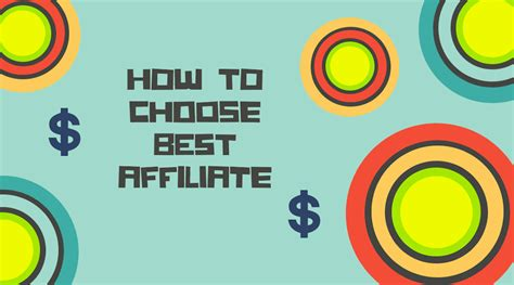 best affiliate program how to choose best affiliate program for your 5