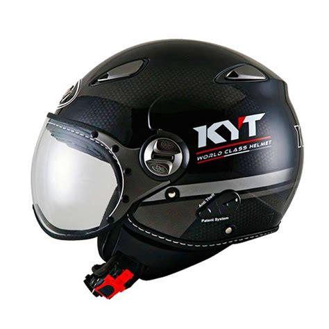 Helm Kyt Black Doff Jual Kyt Elsico 3 Helm Motor Half Black Doff Gun Metal Harga Kualitas