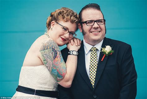 brides embrace their tattoos for badass wedding photos