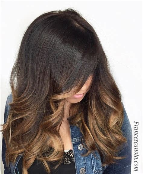 light hair color framing face with brown in back 60 hairstyles featuring dark brown hair with highlights