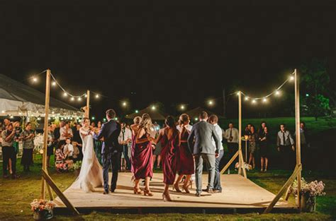backyard wedding dance floor 15 fabulous unique wedding dance floor ideas
