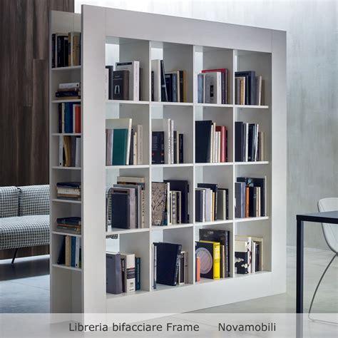 moduli libreria mobili divisori bifacciali