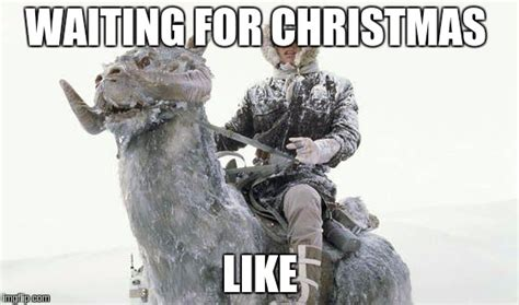 Star Wars Christmas Meme - star wars cold imgflip