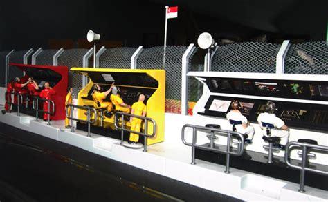 Figure Model Kit Playmobil Pit Mandi Bola slot track scenics ts3 3x timing stand for scalextric ebay