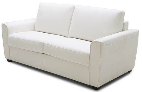 white fabric sofa bed buy sofa bed in white fabric by j and m from www