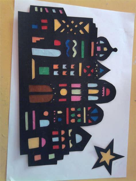 Fensterbilder Weihnachten Basteln Transparentpapier by Orientalische Stadt Basteln Mit Kindern