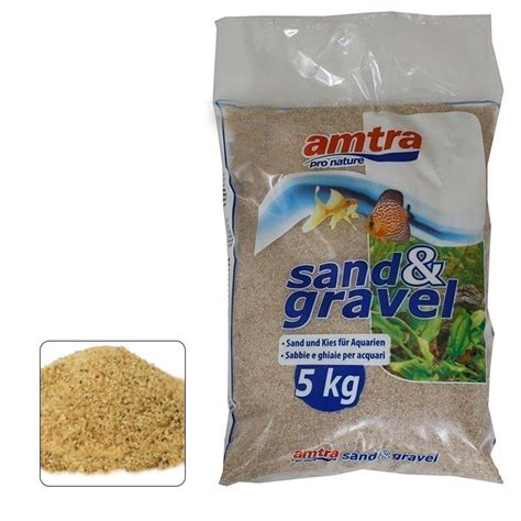 ghiaia acquario amtra sabbia ghiaia rosella 5kg per acquario webpet