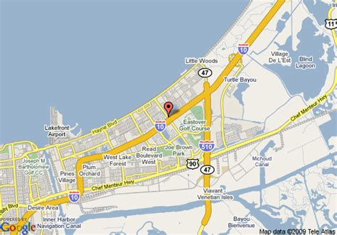 Comfort Suites New Orleans East by Map Of Inn Express New Orleans East New Orleans