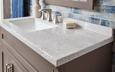 choose  bathroom vanity top  home depot